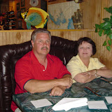 Ken and Bonnie at the Hideaway, Folly Beach.