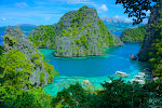 Postcard view of Blue Lagoon