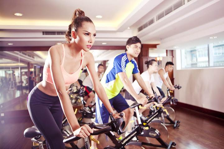Luyện tập mỗi ngày với xe đạp thể dục