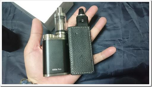 DSC 1816 thumb%25255B2%25255D - 【MOD】パワフル手のひらサイズ「Eleaf iStick Pico 75W」レビュー!VTWo/VTC MiniやiPhoneより小さい!【Mini Volt、Nugget超え小型MOD】
