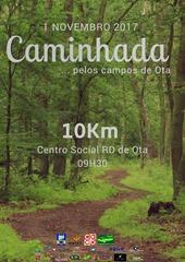 01 NOV.17 - Caminhada