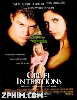 Trò Đùa Tình Ái - Cruel Intentions (1999) Poster