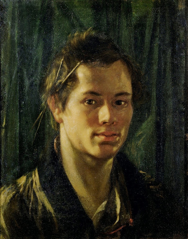 Orest Kiprensky - Self Portrait, 1809