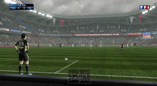 Estádio Parc des Princes - PES 2012