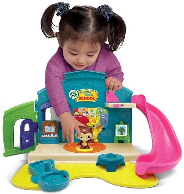 Trường học Động vật LeapFrog Play and Discover School Set an toàn với các em nhỏ