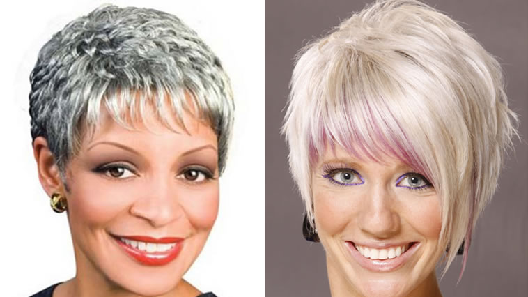 Best Short Hairstyles For Older Women Over 45