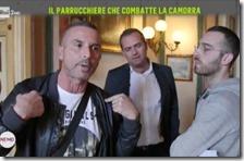 Salvatore Castelluccio e il sindaco De Magistris