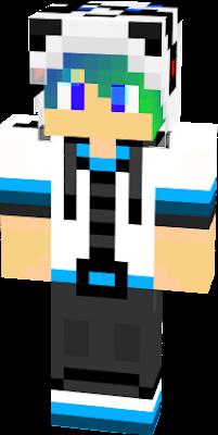 panda cool nova skin