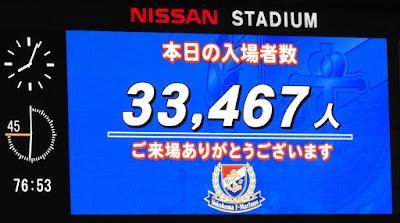 入場者数 33467人