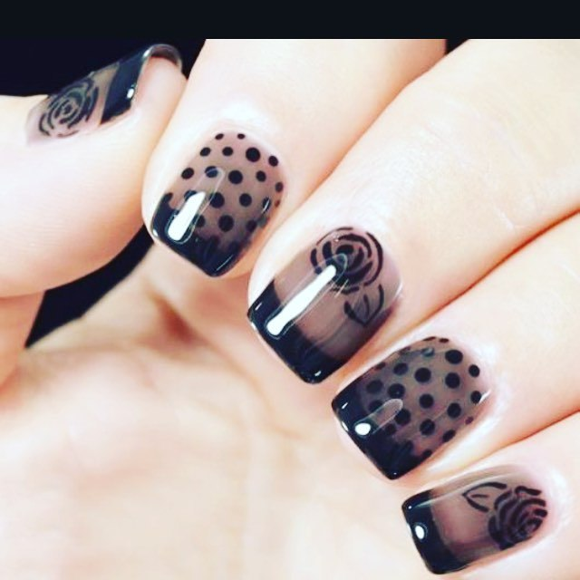 Dotting Tool Nail Art Step By Step Pictures Nails C
