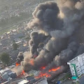 Kebakaran Di Pasar Kambing, Kebon Melati, Tanah Abang