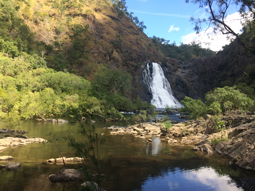Bloomfield falls, at Wajul Wajul, Northern end of the Bloom Track.