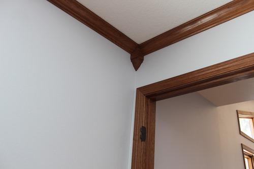 corners in master bedroom