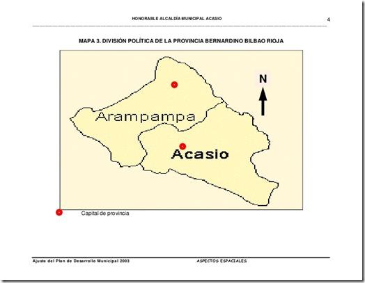 Provincia Bernardino Bilbao: departamento de Potosí (Bolivia)