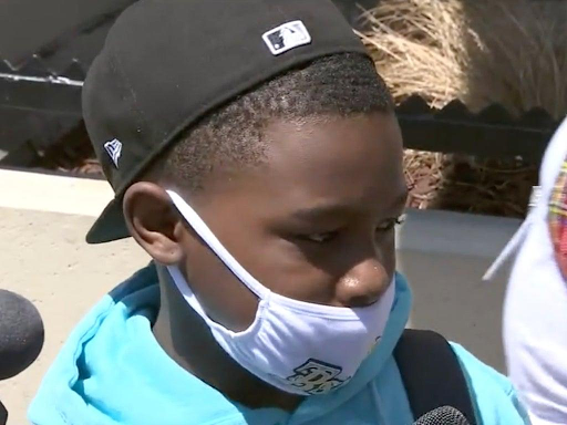 Black 11 year-old stopped by security guards who falsely accused him of stealing