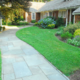 Bluestone front walk