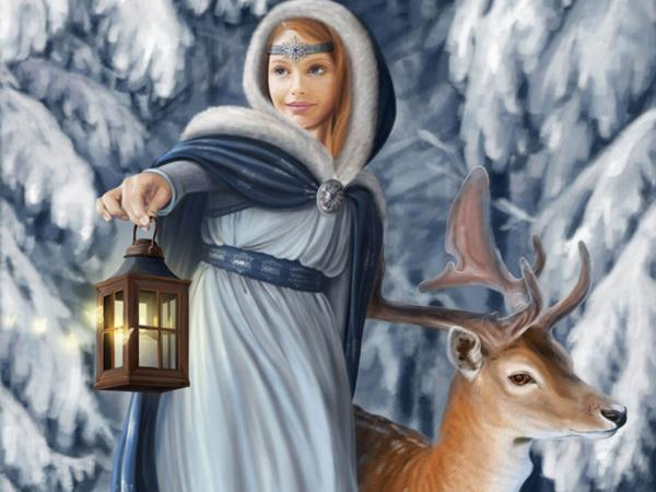 Snow Lady In The Forest, Spirit Companion 4