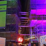 downtown the hague construction in Den Haag, Zuid Holland, Netherlands