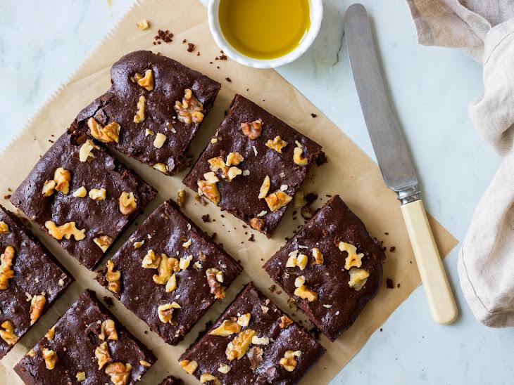 Olive Oil Chocolate Brownies