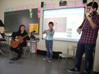 Música clásica en el aula 1º