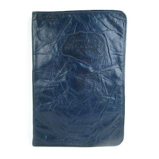 Carlos Falchi Leather Folio