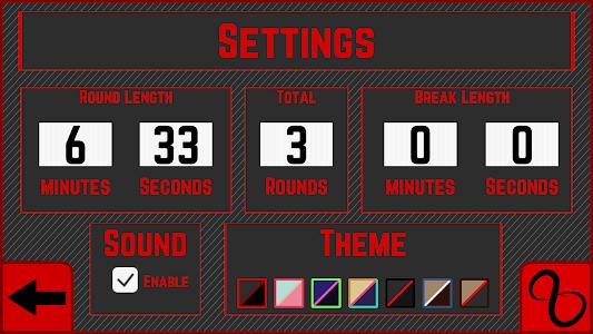 Boxing Timer screenshot 1