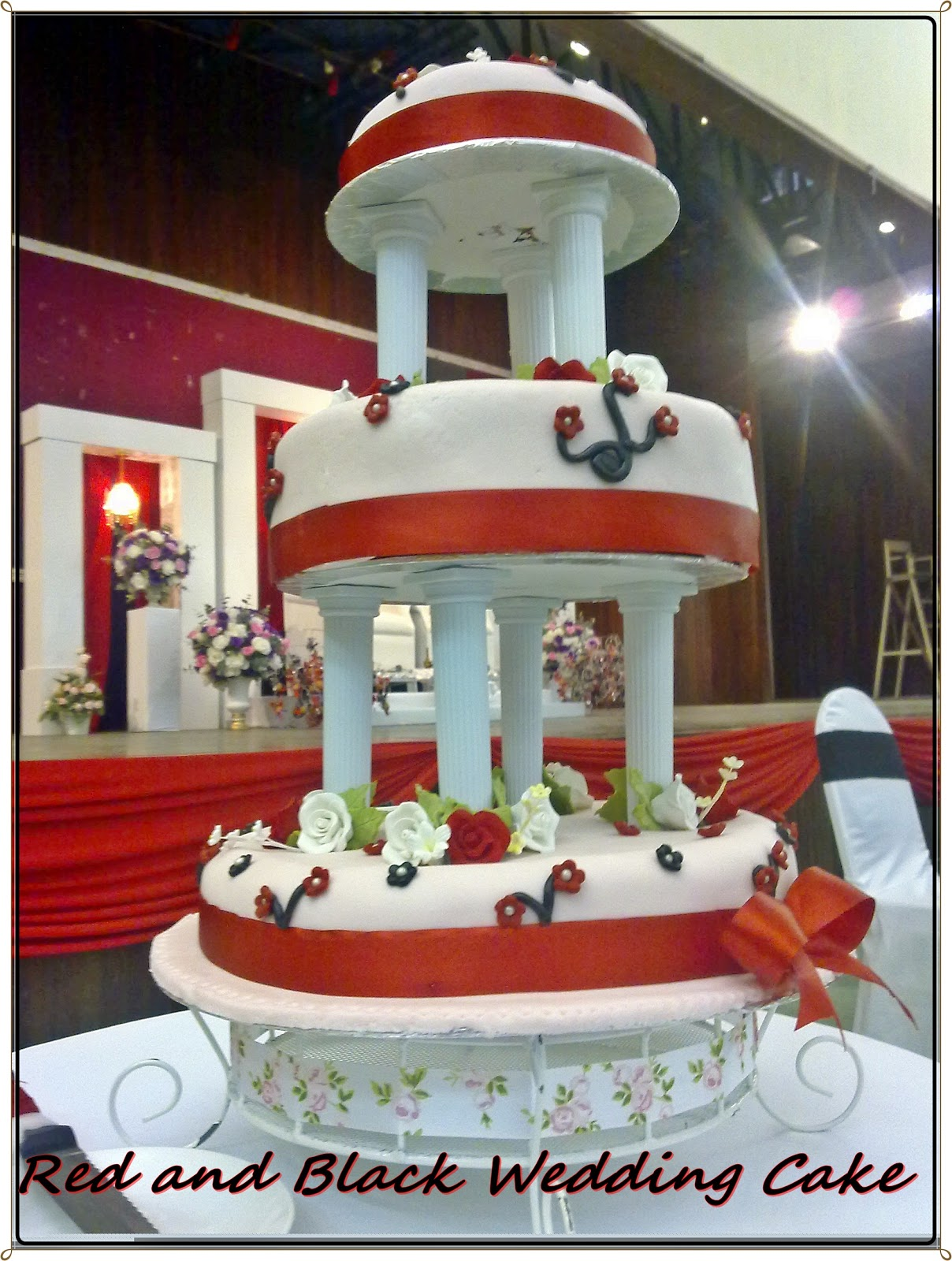 And Red Wedding Cake