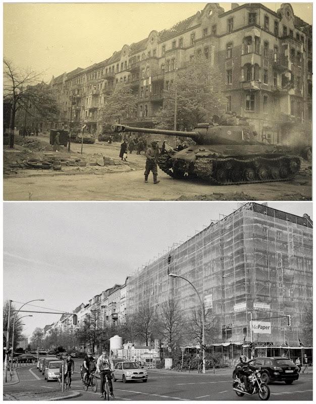 Berlin battleground- 70 years later