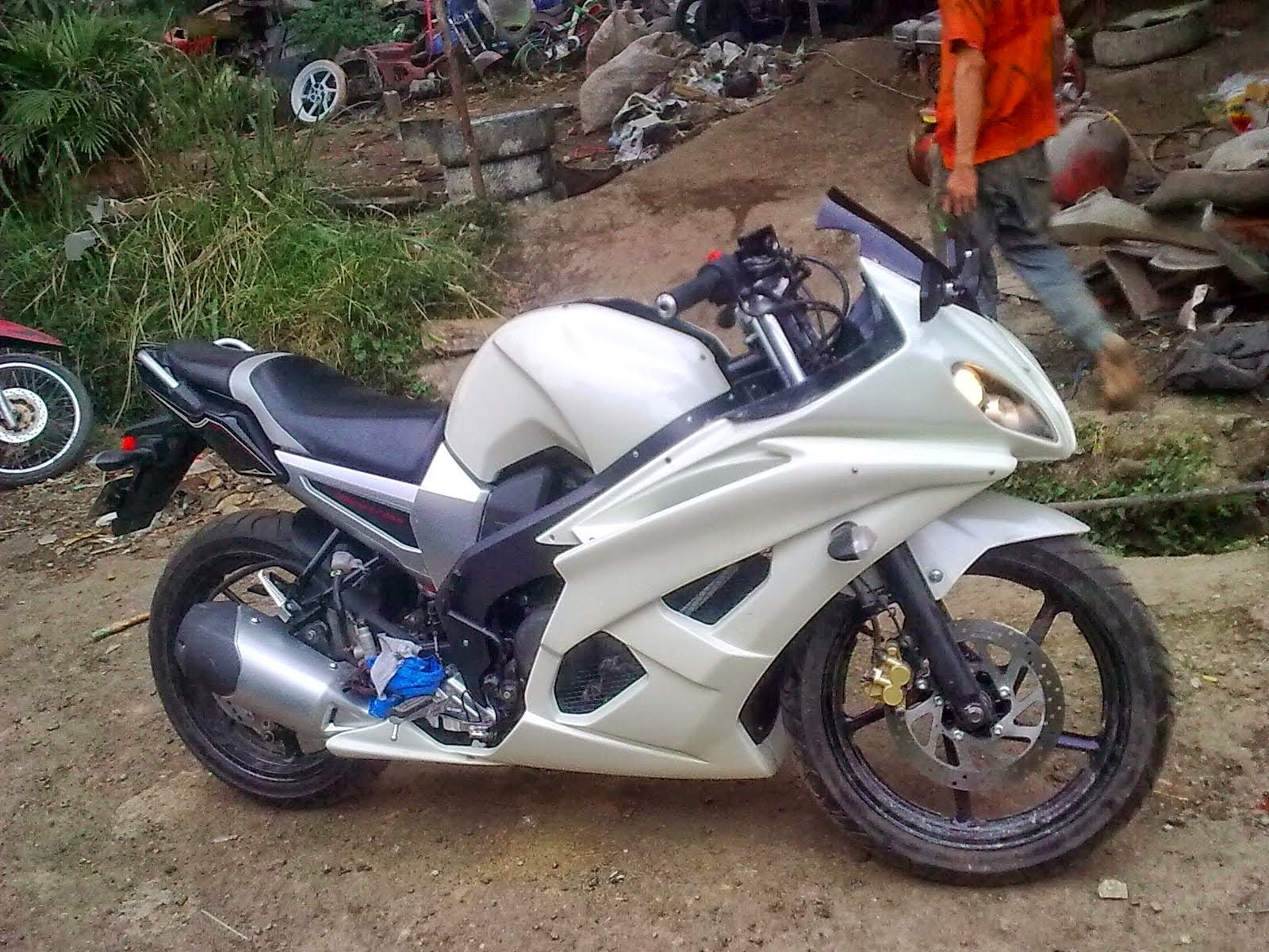 Modifikasi Byson Jadi Ninja 250