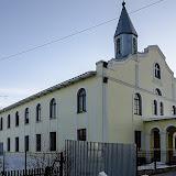 """Церковь адвентистов седьмого дня. Кстати, расположена она совсем недалеко от православной церкви в честь иконы Божией Матери """"Скоропослушница"""", метров 300 всего..."""