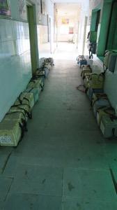 Corridor with Polio Boxes