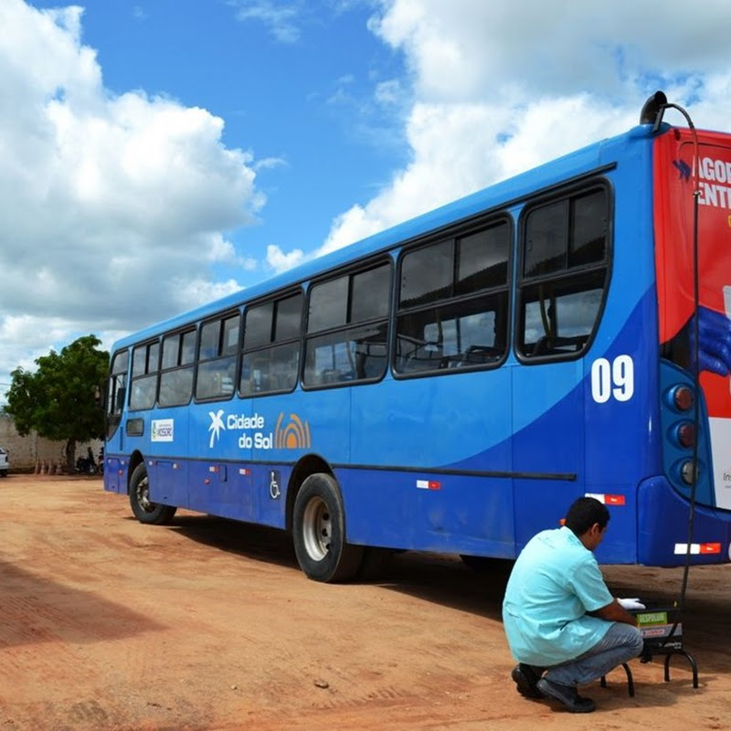 Inspeção atesta baixa poluição de ônibus em Mossoró