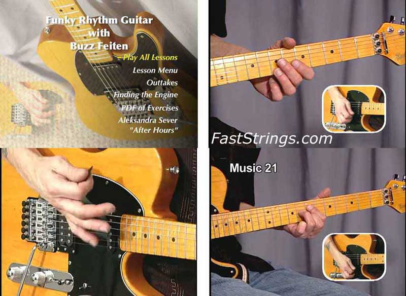 Buzz Feiten - Funky Rhythm Guitar