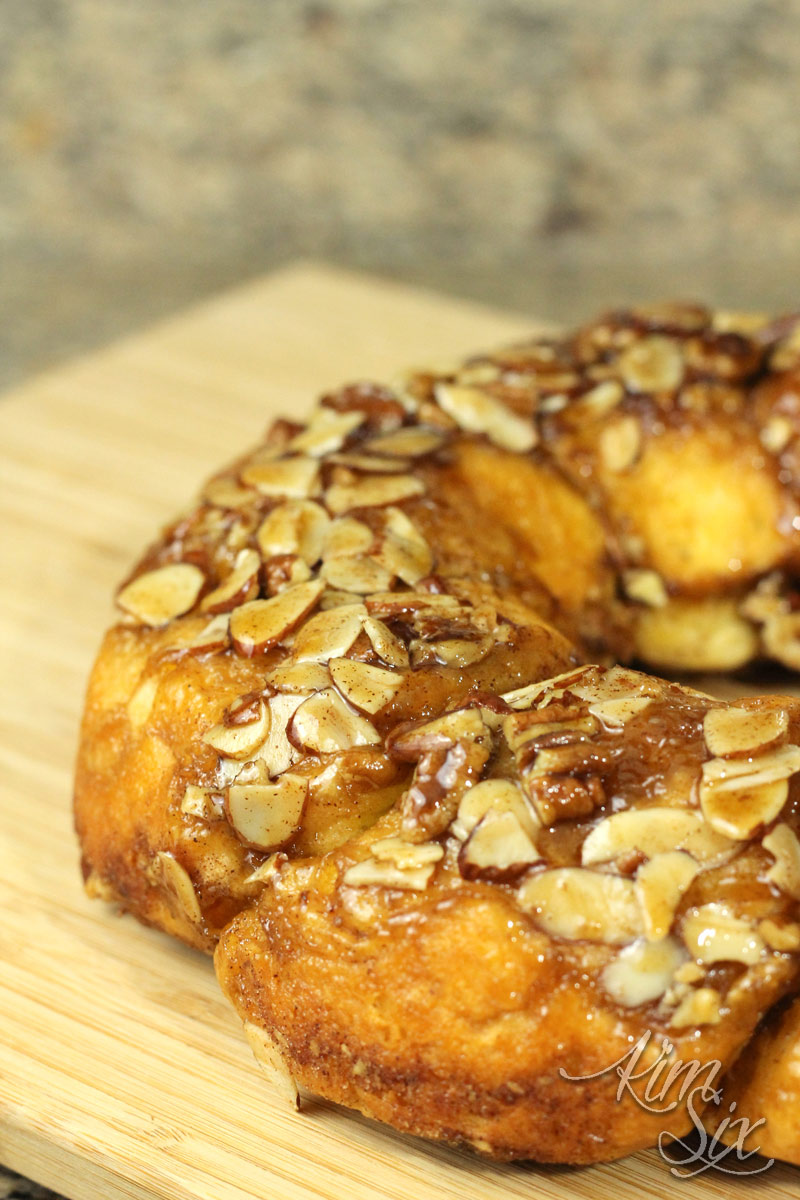 Cinnamon Almond Ring Pastry