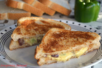 Olive-Cheese Toast