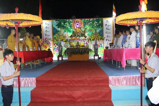 Ban Trị sự GHPGVN huyện Phù Cát tổ chức tuần lễ Đại Lễ Phật Đản PL. 2560