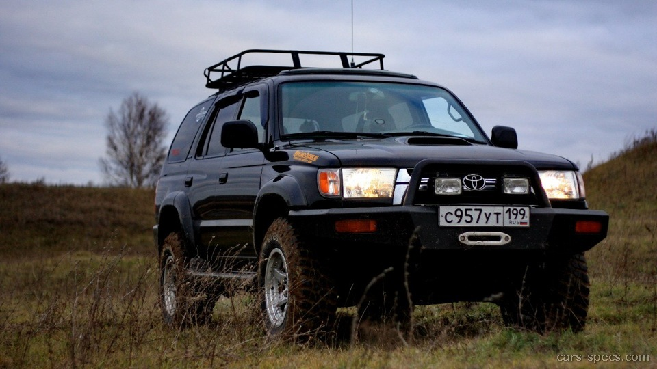 1997 toyota 4runner suv specifications pictures prices. Black Bedroom Furniture Sets. Home Design Ideas