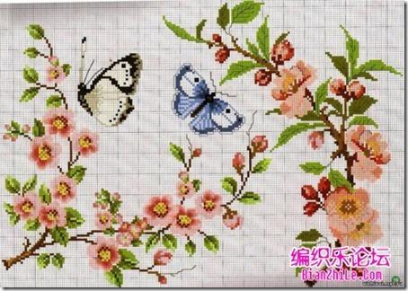 mariposas punto cruz (5)