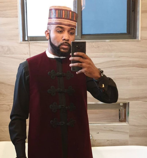 Congratulations! Banky W Celebrates After Winning His Polling Unit In Lekki