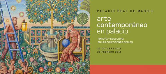 Exposición 'Arte Contemporáneo en Palacio'