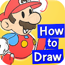 How to draw Mariko v 1.0.0 app icon