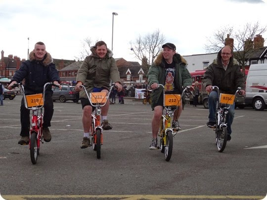 Chopper Squad – Jack Gresty – Andrew Feltham – Paul  Weaver – Christopher White