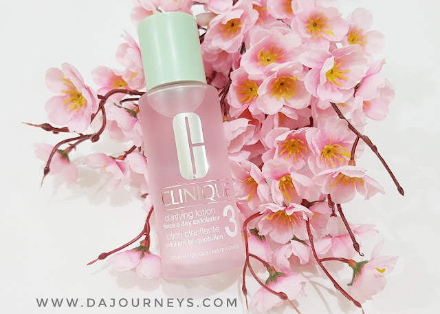 [Review] Clinique Clarifiying Lotion for Combination to Oily Skin