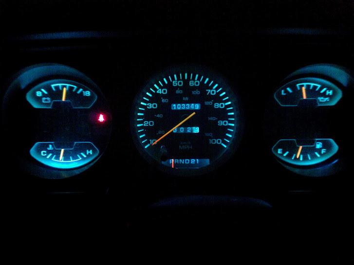 L E D Dash Light Swap Dodge Ram Ramcharger Cummins