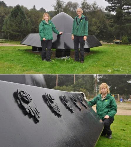 Ufo Sculptureto Be Placed At Rendlesham Forest