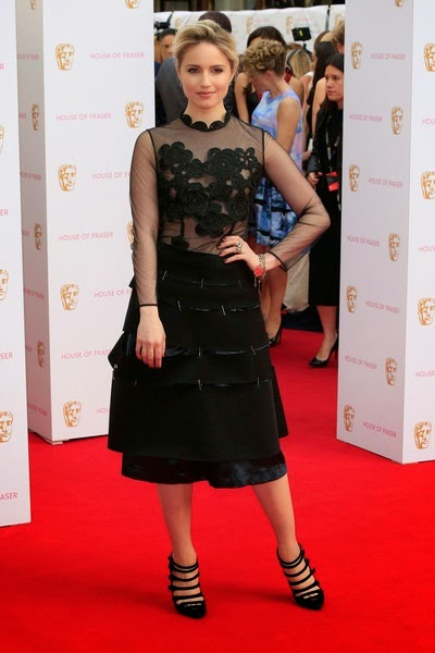 Dianna Agron attends the House of Fraser British Academy Television Awards
