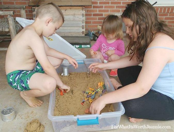 Cheap DIY sandbox 2