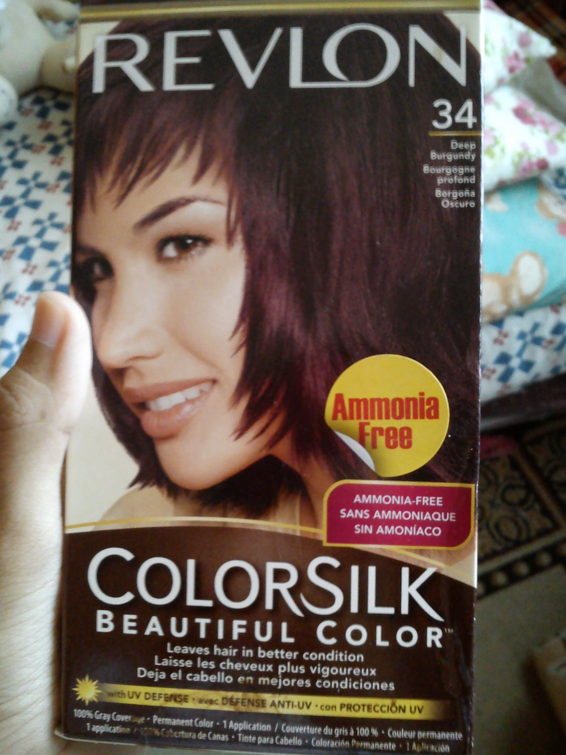 revlon top speed hair color instructions