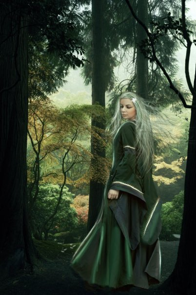 Druid Woman, Celtic And Druids