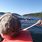 Kayaking to Mica Bay